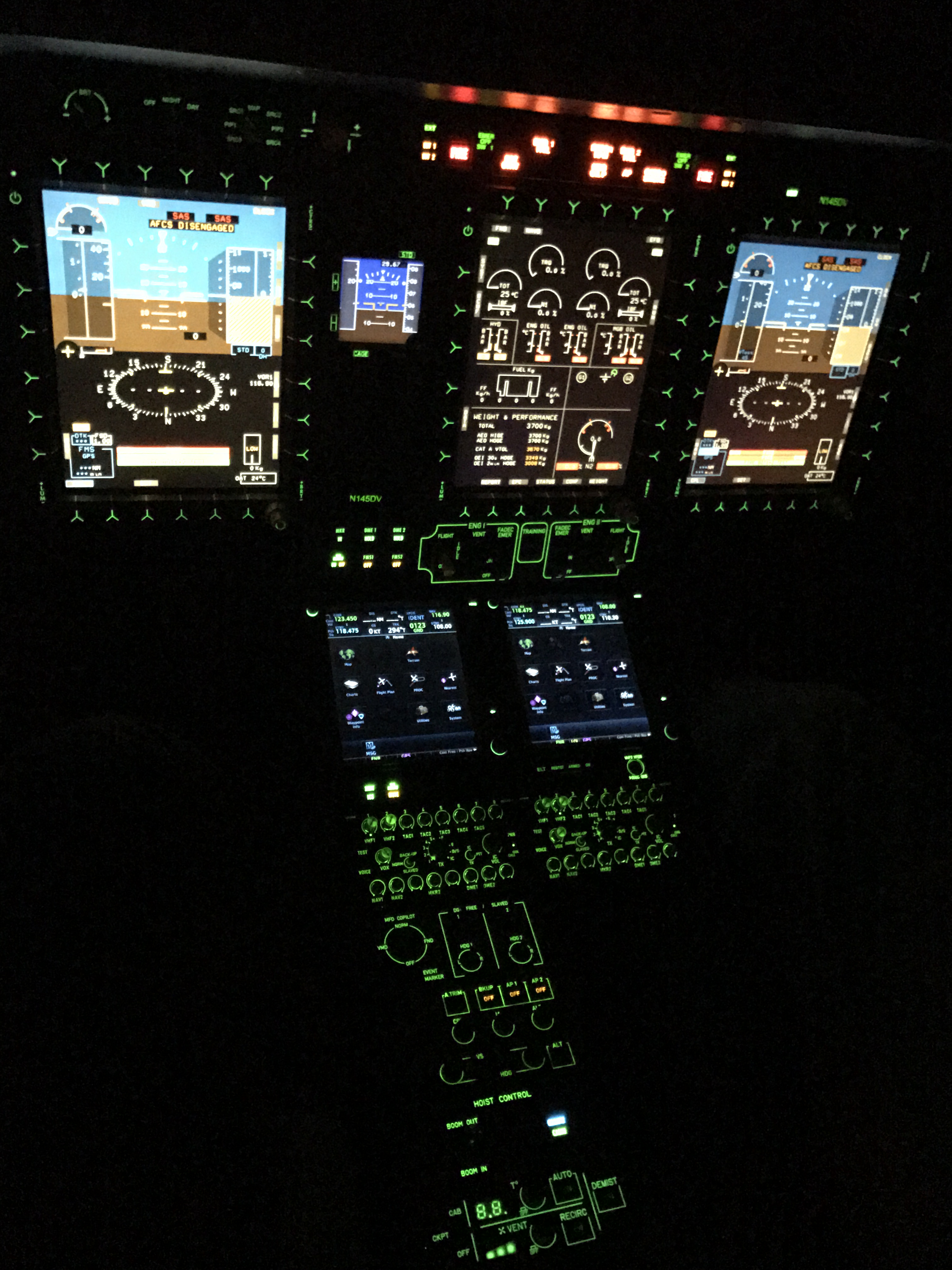 Aero Dynamix receives FAA STC# SR09528RC Certification for the Airbus H145 Night Vision Lighting Modification