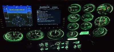aircraft instrument lighting