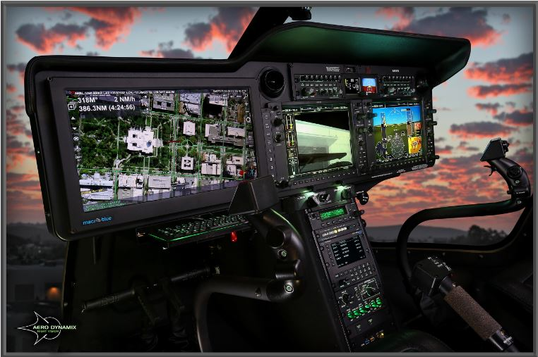 Aero Dynamix Receives FAA STC# SR09899AC for Bell 505 Night Vision Compatible Lighting System
